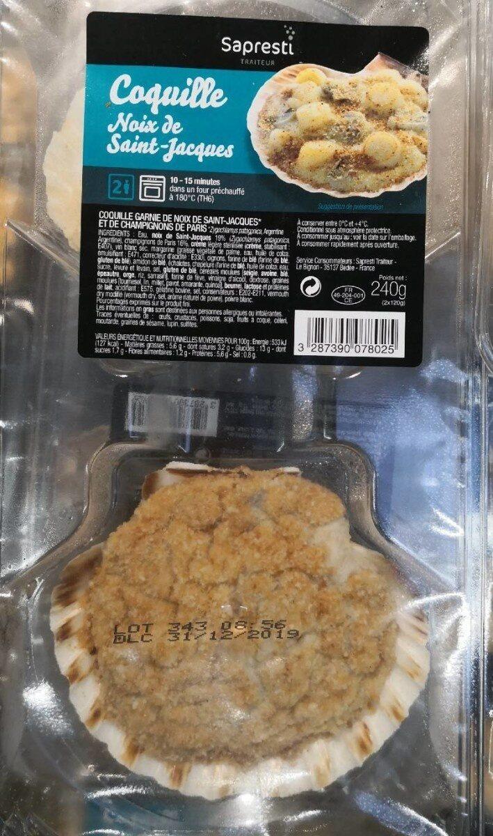Coquille noix de saint Jacques - Product - fr