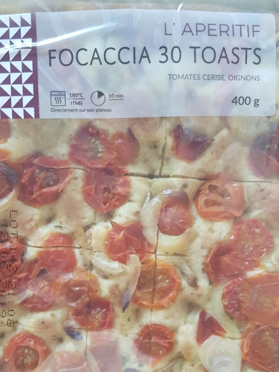 FOCACCIA 30 TOAST - Product - fr