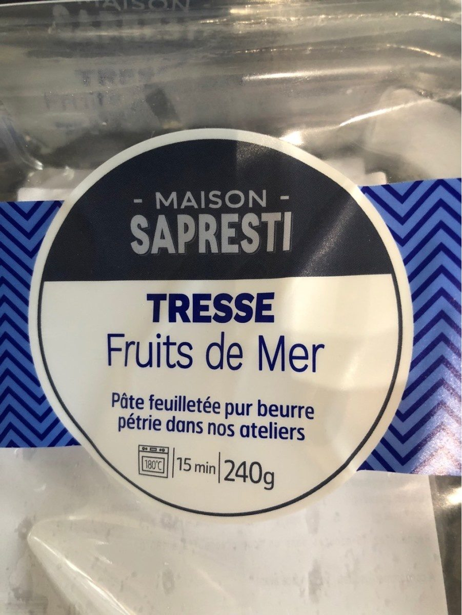 Tresse fruits de mer - Product - fr