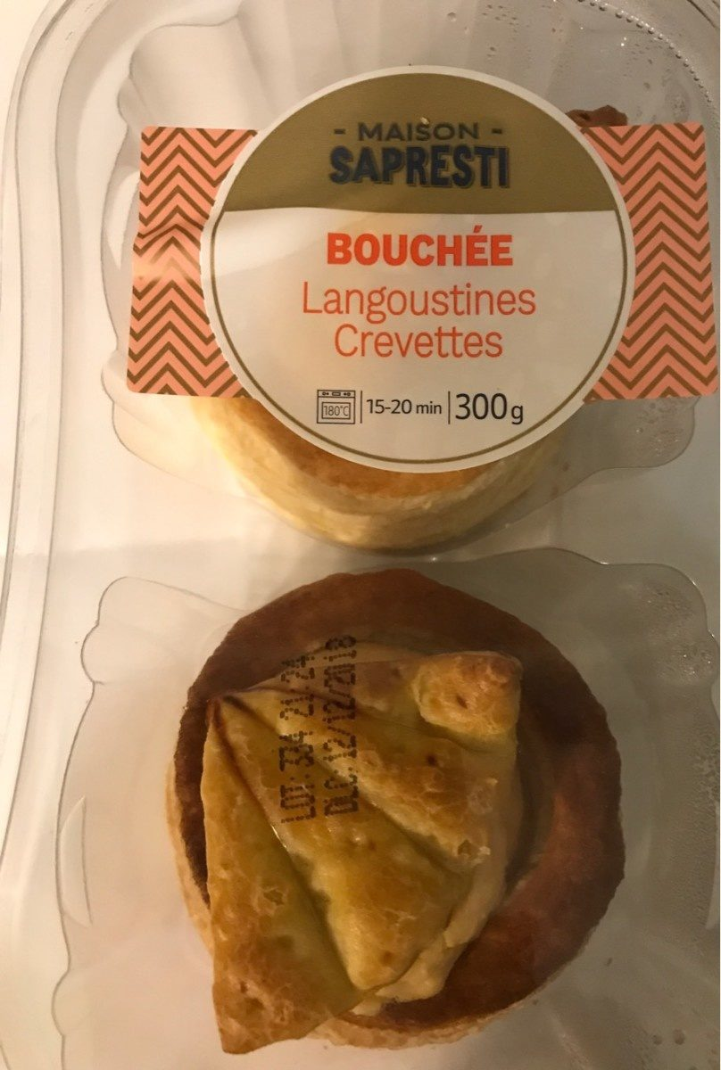 Bouchée langoustine crevette - Product - fr