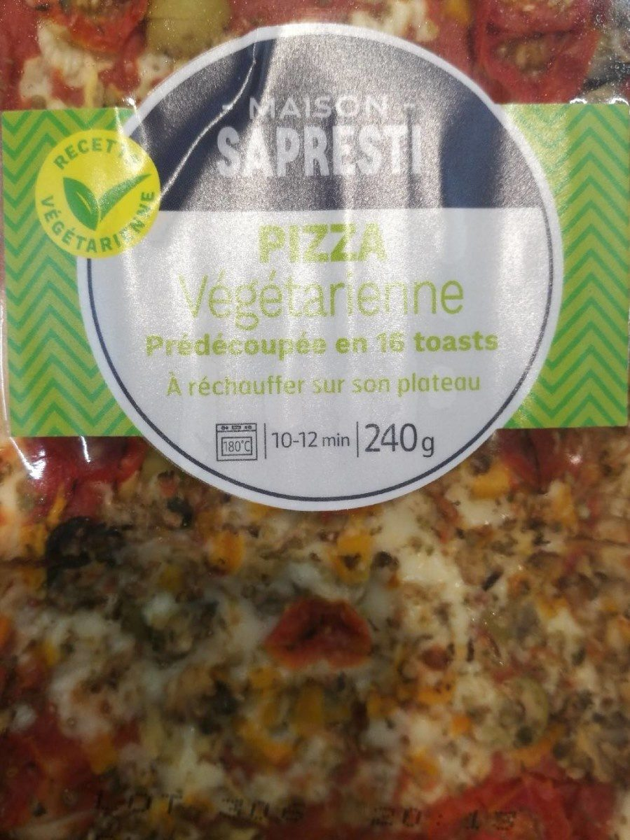 Pizza végétarienne sapresti - Product
