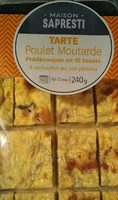 Tarte poulet moutarde - Product - fr