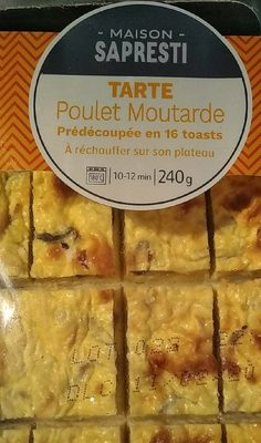 Tarte poulet moutarde - Product