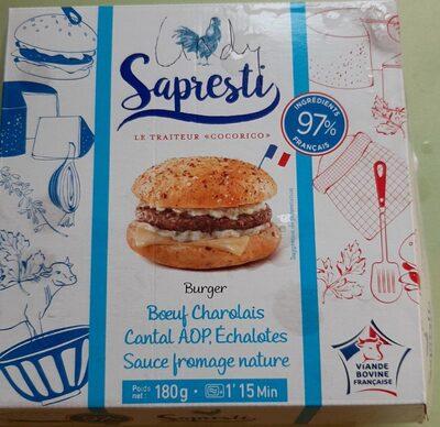 Burger bœuf charolais - Product - fr