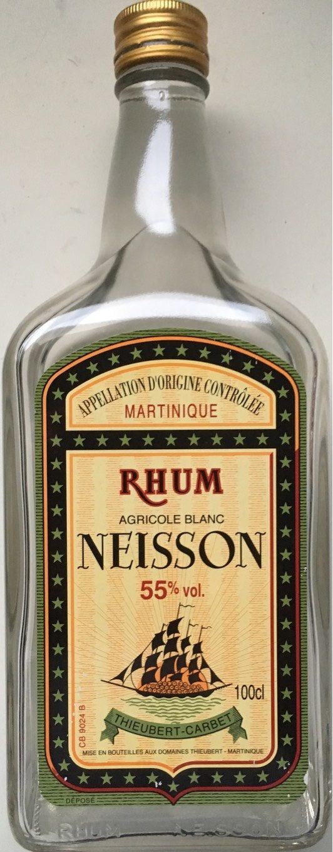 Rhum Blanc Agricole 55º - Produit - fr
