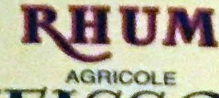 Rhum Blanc Agricole 55º - Ingrédients