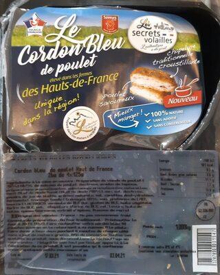 Le cordon bleu de poulet - Produit - fr