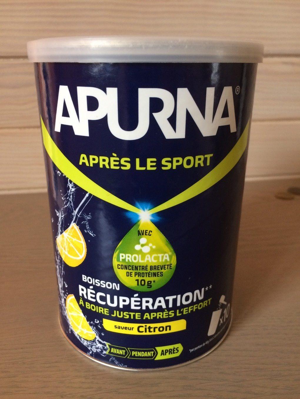 Boisson recuperation goût citron - Produit - fr