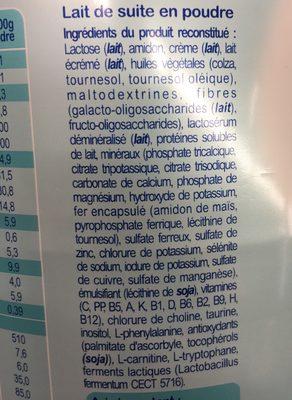 Milumel Premium Plus - Ingredients - fr