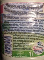 Eveil Croissance Bio - 3 - de 10 à 36 mois - Ingrédients