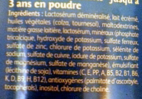 Milumel Croissance Maxi Format - Ingrédients - fr