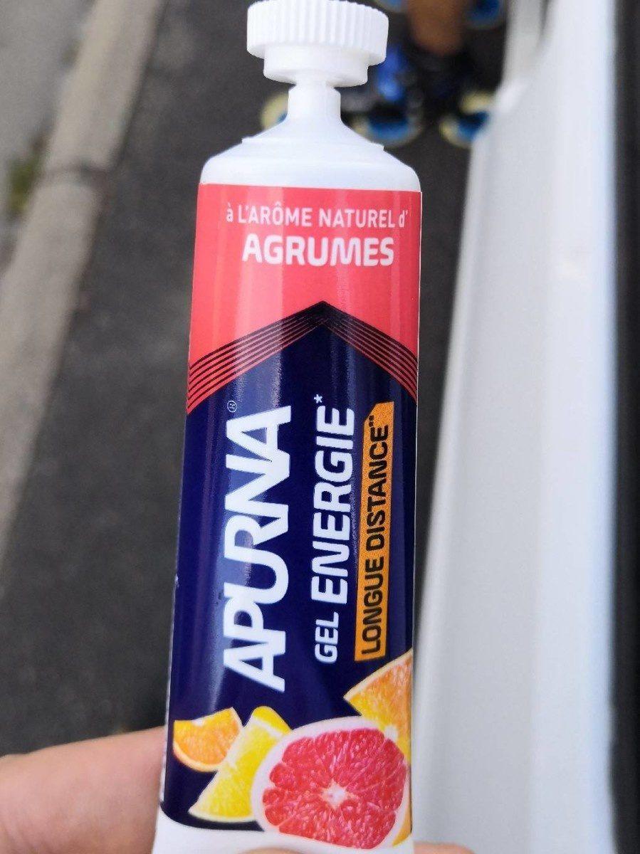 Apurna gel énergie longue distance agrumes - Produit