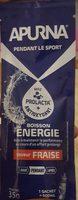 Boisson ENERGIE saveur FRAISE - Produit - fr