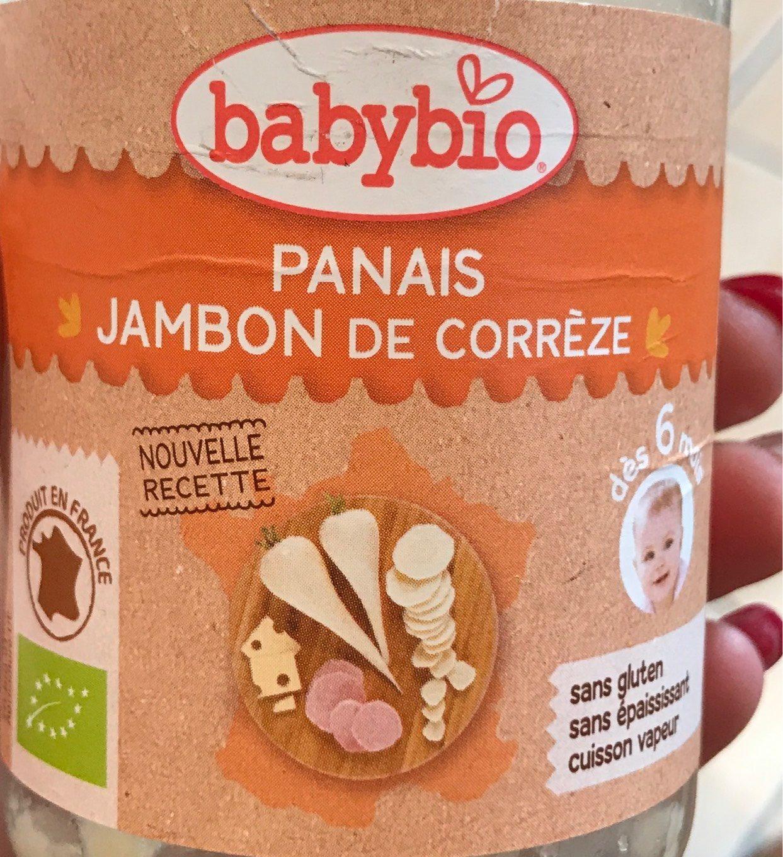 Panais jambon de corrèze - Product