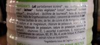 Babybio croissance - Ingrédients - fr