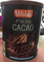 P'tit Déj Cacao - Product