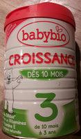 Croissance 3 Dès 10 mois - Product - fr