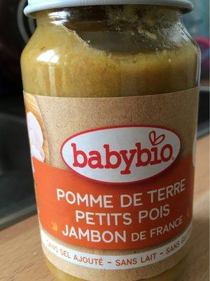 Pomme de terre petits pois jambon de france - Product - fr