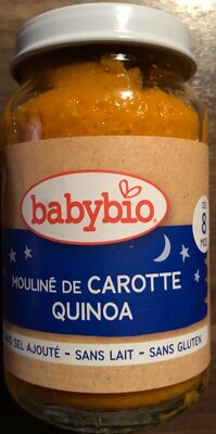 Mouliné de carotte Quinoa - Produit - fr