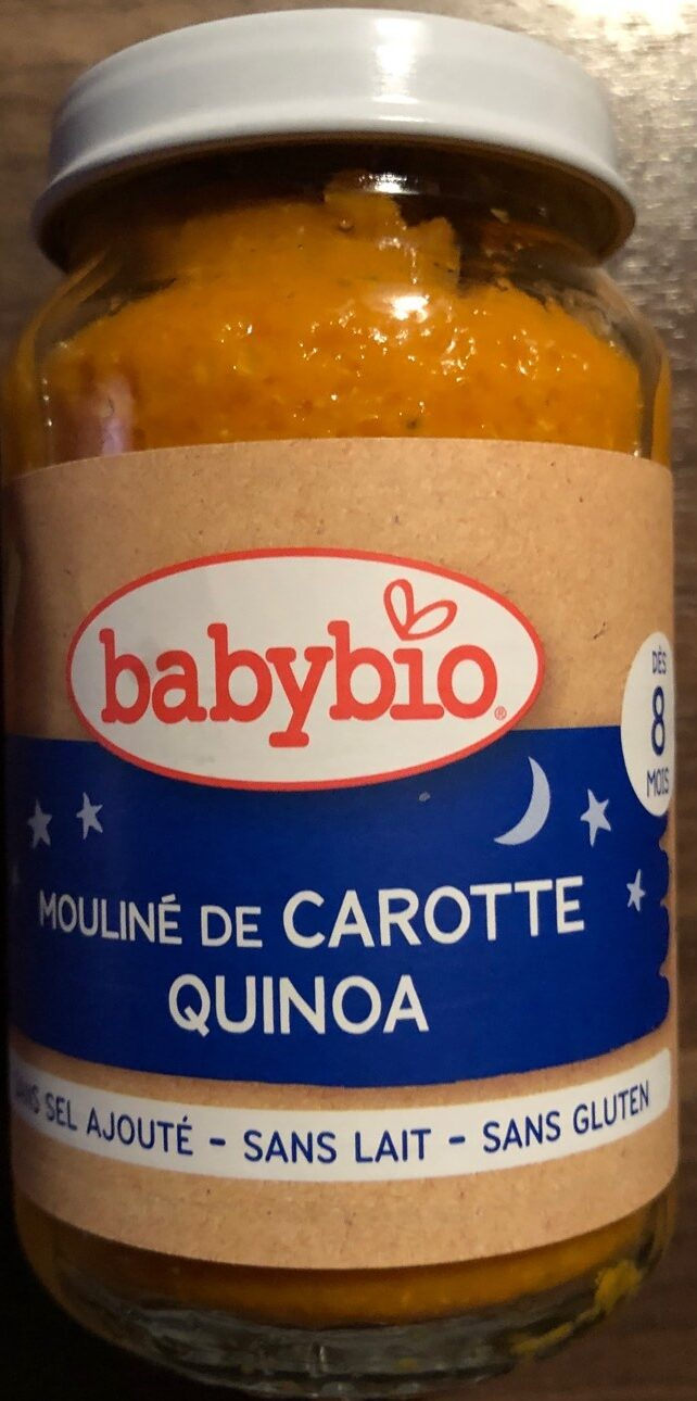 Mouliné de carotte Quinoa - Product - fr