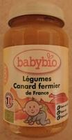 Légumes Canard fermier de France - Product