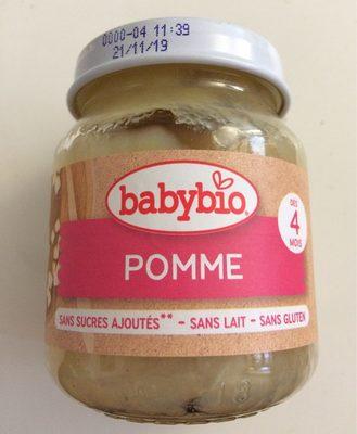 Compote Pomme Verveine - Produit - fr