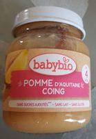 Mes fruits Pomme Coing - Produit