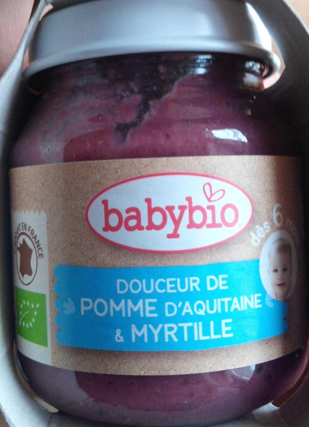 Douceur pomme myrtille - Product