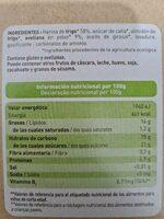 Galletas de avellana - Ingredientes - fr
