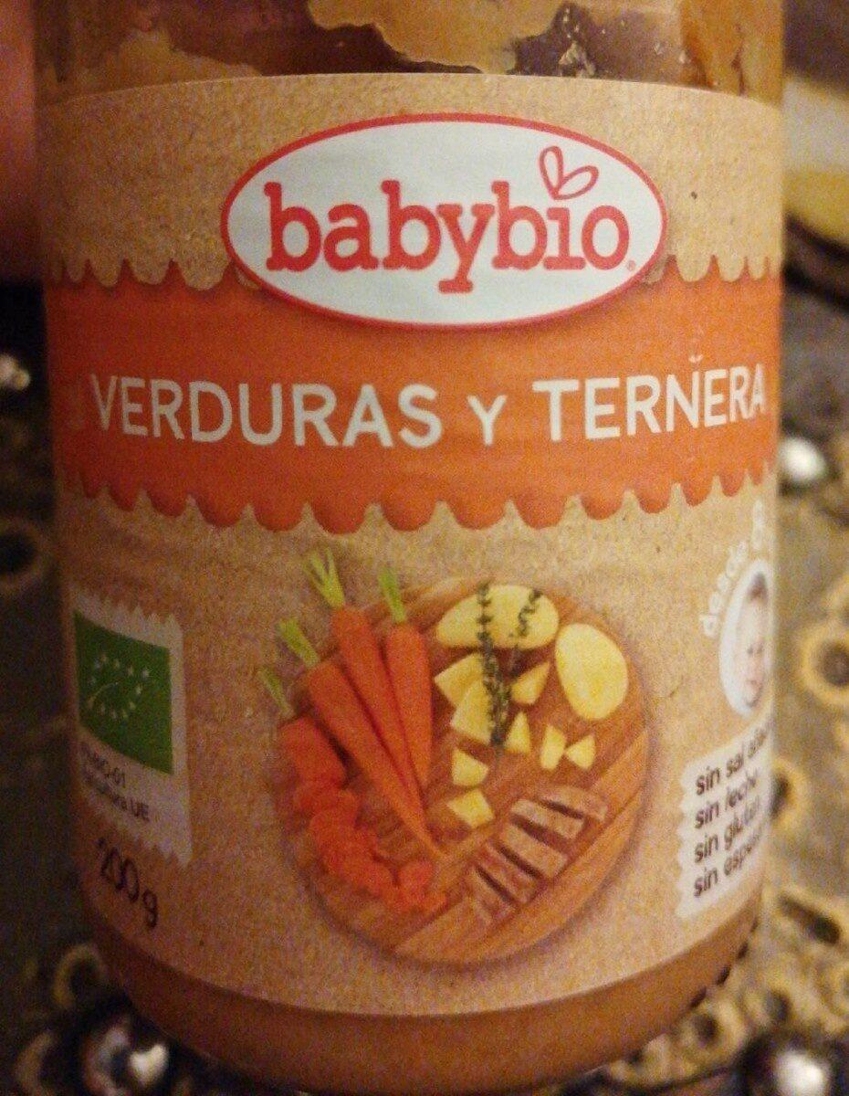 Puré de ternera y verduras - Producto - es