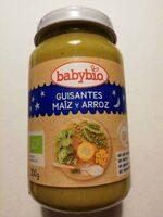 Carrito guisantes maíz y arroz - Producto - es