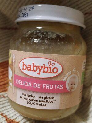 Potito babybio delicia de frutas - Producto - es