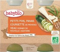 Pots Petits Pois Panais Courgette Veau - Product - fr