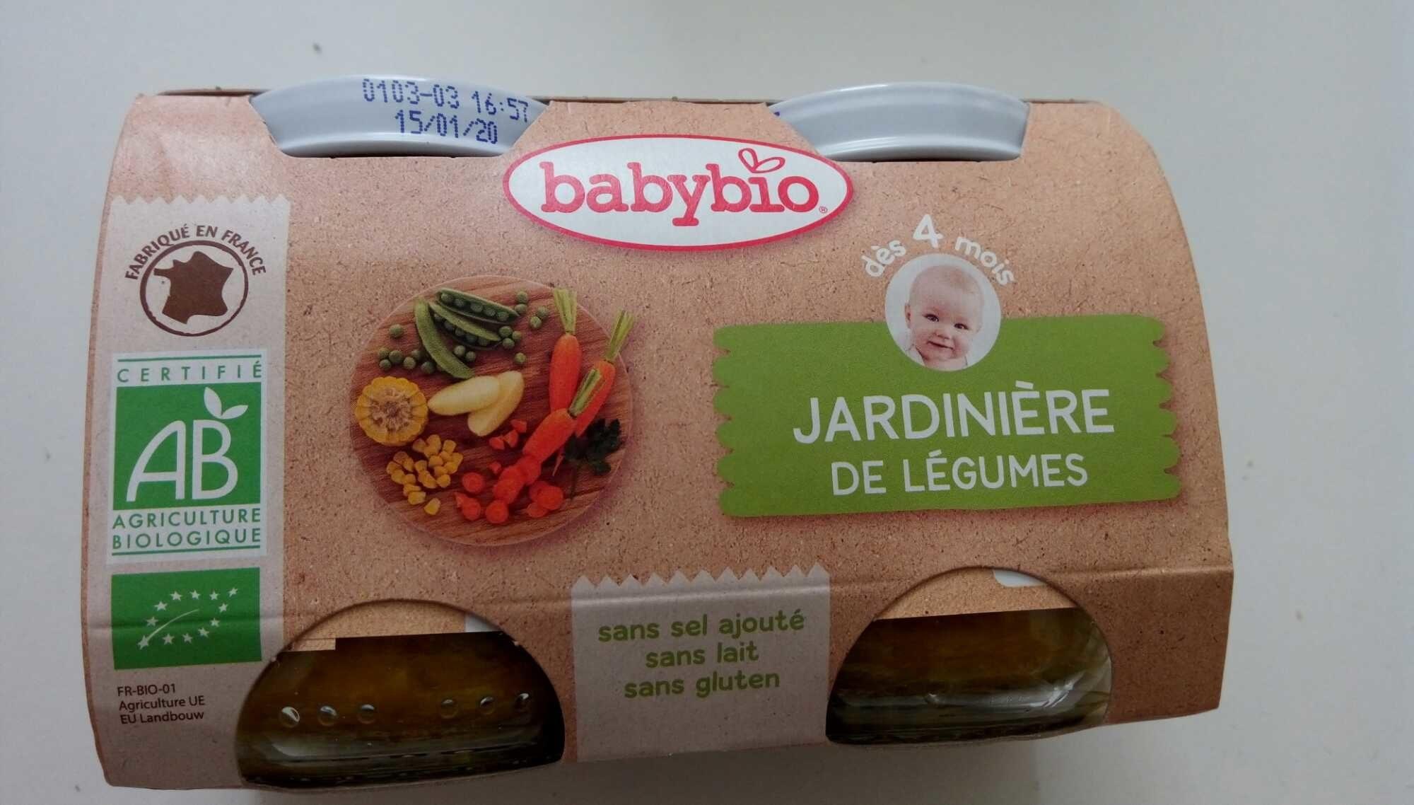 Jardinière de légumes, dès 4 mois, certifié AB - Product
