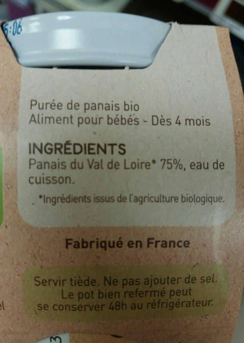 Panais - Ingrediënten - fr