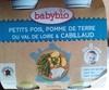 Petits pois, pomme de terre du Val de Loire & cabillaud - Product