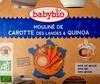 Mouliné de Carotte des landes & Quinoa - Produit