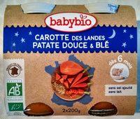 Blé et légumes variés, dès 6 mois, certifié AB - Product - fr