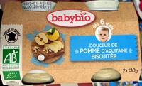 Douceur de pomme d'aquitaine biscuitée - Product - fr