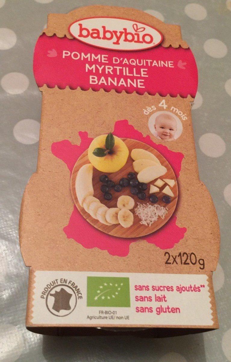 Pomme Myrtille Banane - Product