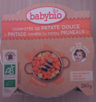 Menu Patate Douce Pintade Pruneaux - Product