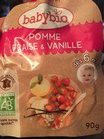 Compote Pomme fraise et vanille - Product - fr