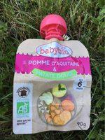 Pomme d'aquitaine et patatz douce - Voedigswaarden