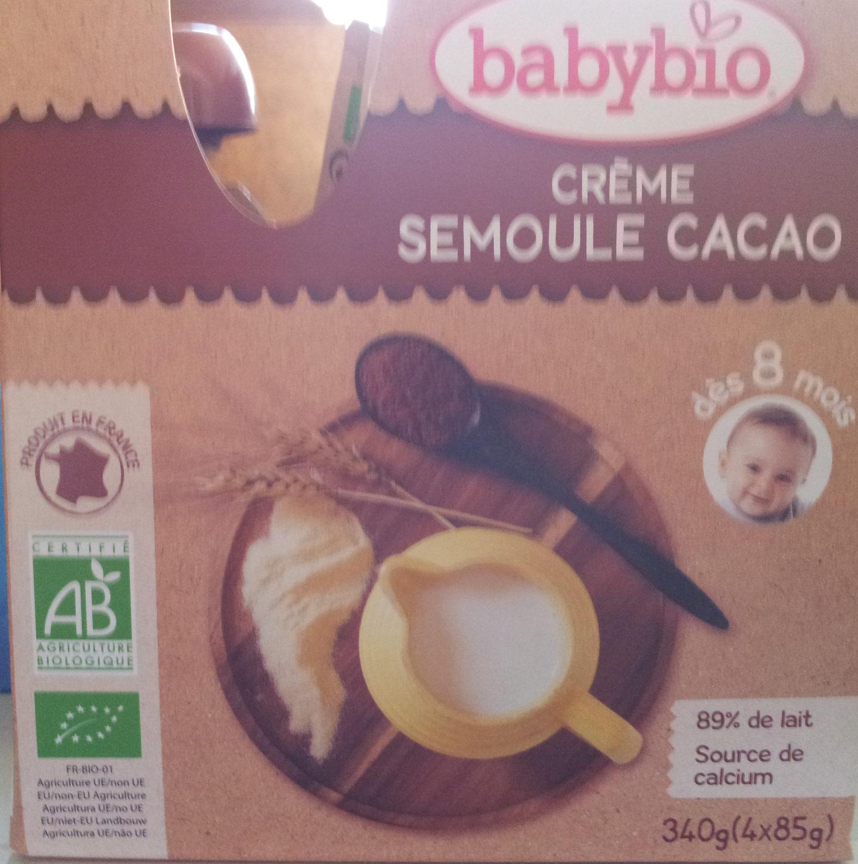 Crème semoule cacao - Product - fr