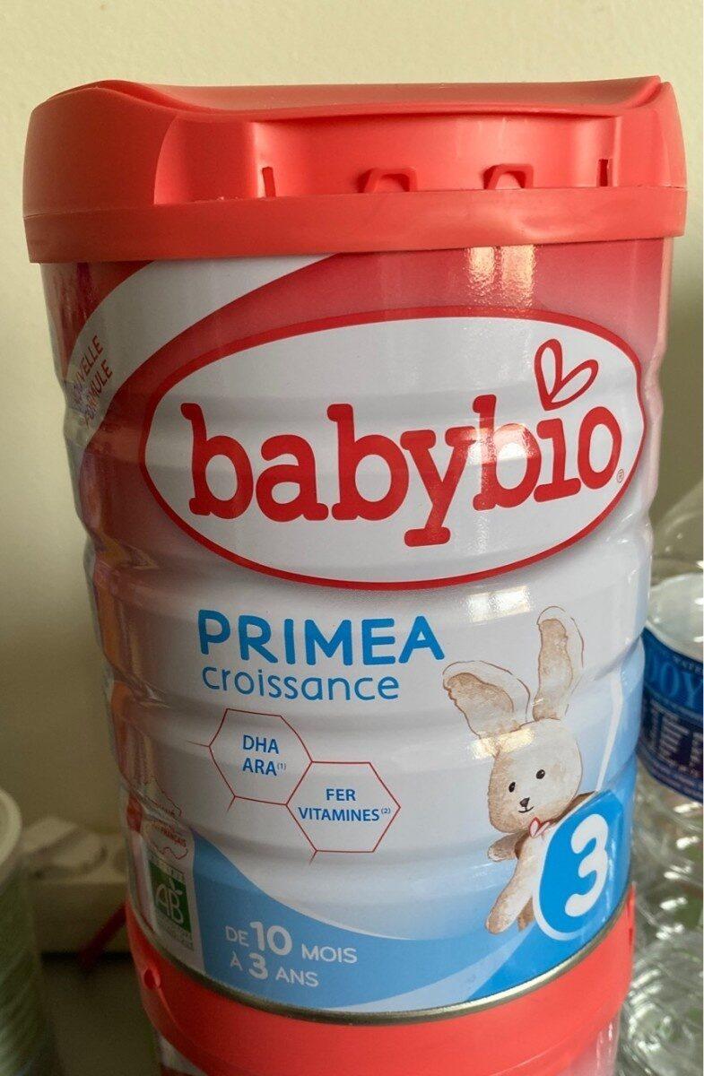 Babybio Primea Croissance 3 - Produit - fr