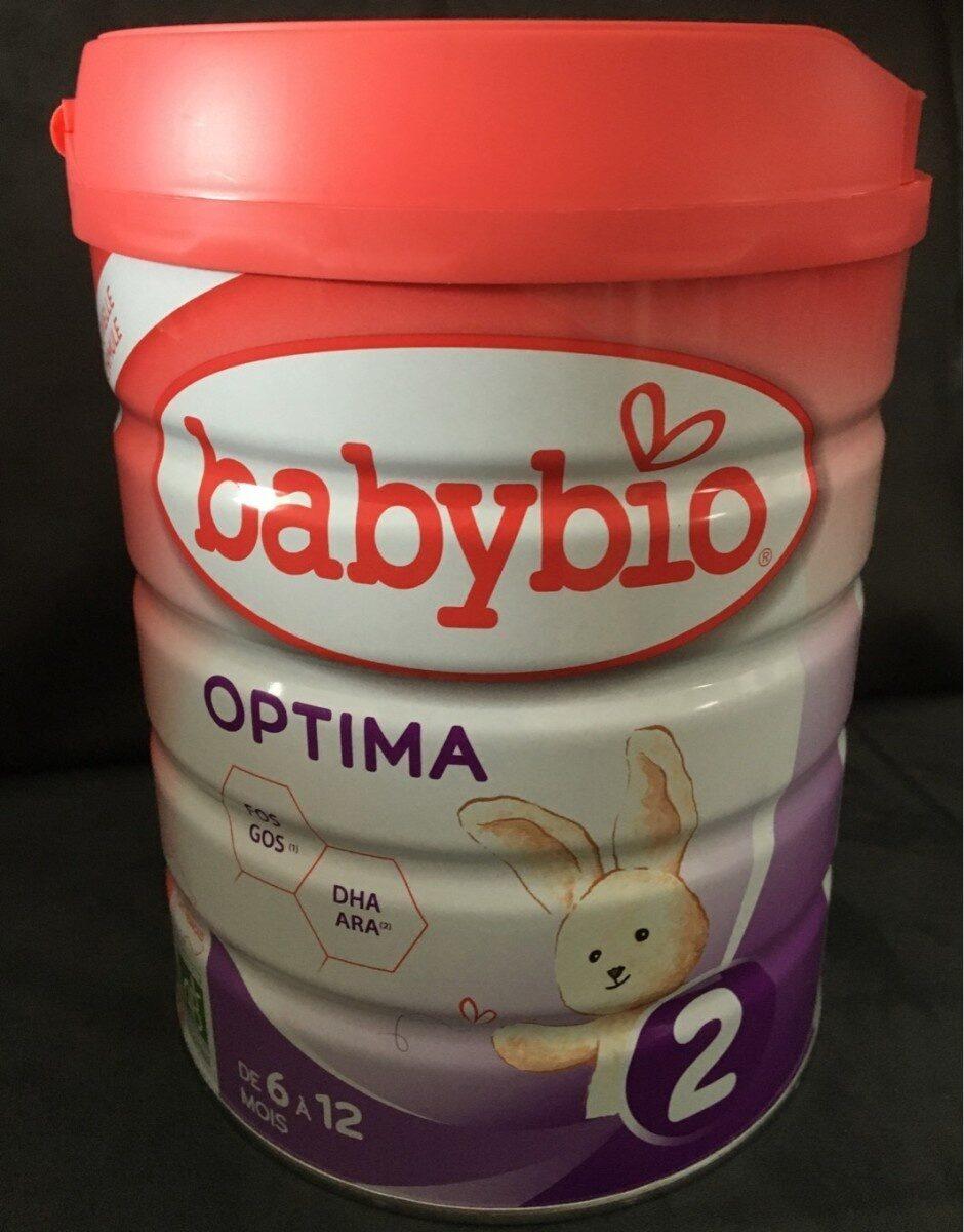 Babybio optima lait 2eme age - Product - fr