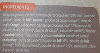 Cool Barre - Ingrédients - fr