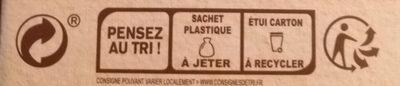 Cool Barre - Instruction de recyclage et/ou information d'emballage - fr