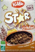Star O'Miel - Céréales soufflées enrobées au miel - Produit - fr