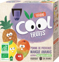 Cool Fruits Pomme Mangue Ananas - Prodotto - fr